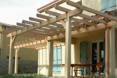 Pergola envie bois for Couverture pergola canisse