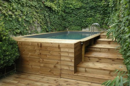 Terrasses bois europ en envie bois for Piscine hors sol reglementation